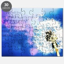 Cute Dandelion art Puzzle