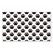Cat Paw Prints Decal