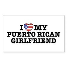 I Love My Puerto Rican Girlfriend Stickers