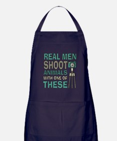 Real men Photographer Apron (dark)