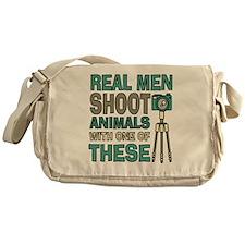 Real men Photographer Messenger Bag