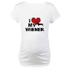 I Heart My Wiener Shirt