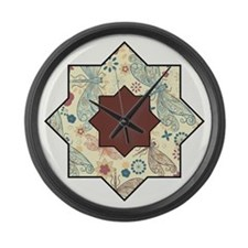 MOROCCAN STAR Large Wall Clock