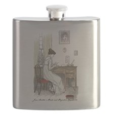 Cool Pride and prejudice Flask