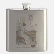 Unique Jane austen Flask