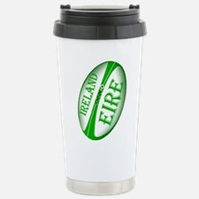 Irish Rugby Ball Travel Mug