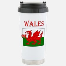 Wales Rugby Stainless Steel Travel Mug
