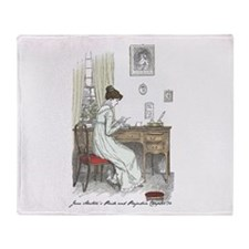 Funny Pride and prejudice Throw Blanket