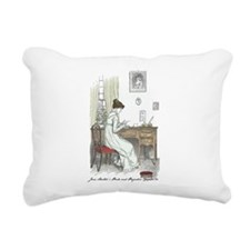 Funny Jane austen Rectangular Canvas Pillow