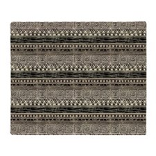 African Pattern Throw Blanket