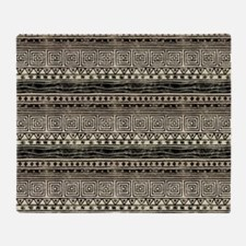 African Pattern Throw Blanket