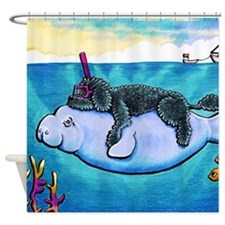 Water Babies Shower Curtain