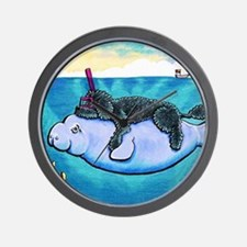 Water Babies Wall Clock