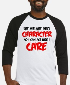 Like I Care bla-red.png Baseball Jersey