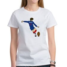 French Rugby Kicker Tee