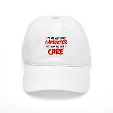 Like I Care bla-red.png Baseball Baseball Cap