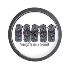 Bouvier des Flandres Wall Clock