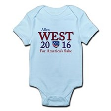 allen west 2016 Infant Bodysuit