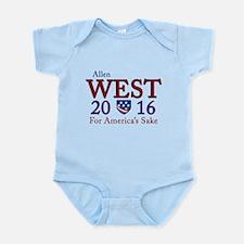 allen west 2016 Infant Bodysuit