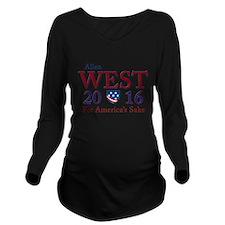allen west 2016 Long Sleeve Maternity T-Shirt