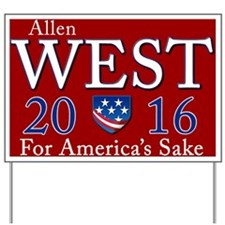 Allen West 2016 Yard Sign
