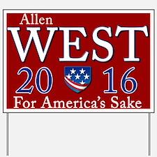Allen West 2016 Yard Sign