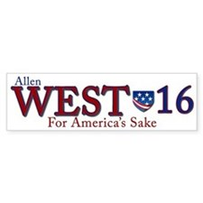 allen west 2016 Bumper Sticker
