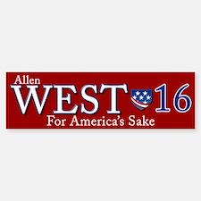 allen west 2016 Sticker (Bumper)