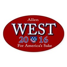 allen west 2016 Decal