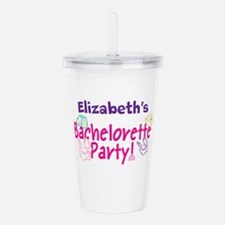 Bachelorette Party (p) Acrylic Double-Wall Tumbler
