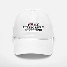I Love My Puerto Rican Boyfriend Baseball Baseball Cap