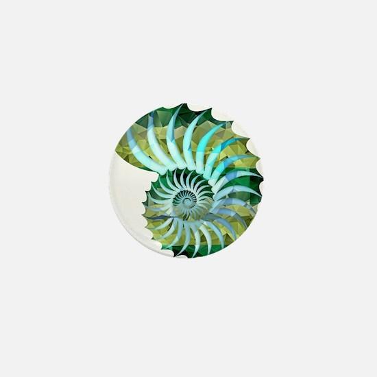 Cute Conch Mini Button