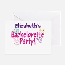Bachelorette Party (p) Greeting Cards