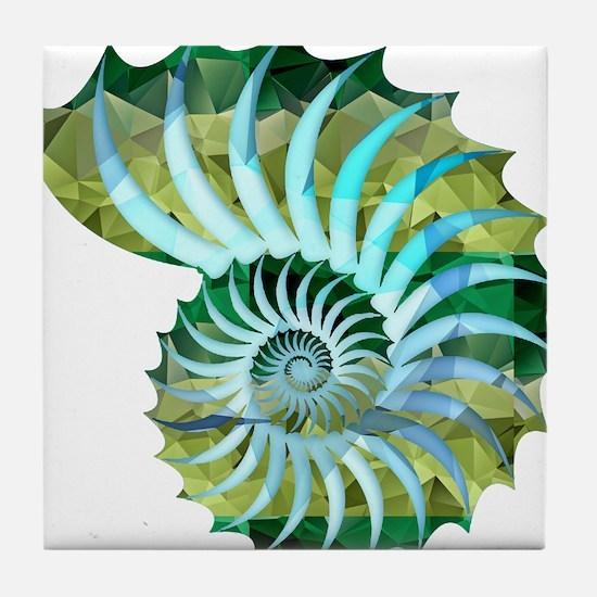 Cute Ocean Tile Coaster