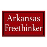 Arkansas Freethinker Sticker