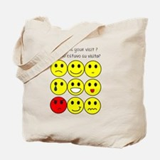 How was your visit? Tote Bag