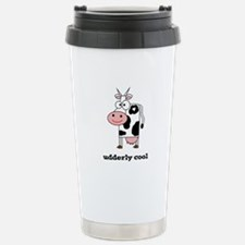 Udderly Cool Stainless Steel Travel Mug