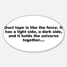 Cute Duct tape like force Decal