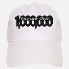 You Are One in a Million Rebus Word Puzzle Baseball Baseball Cap