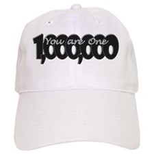 You Are One in a Million Rebus Word Puzzle Baseball Cap