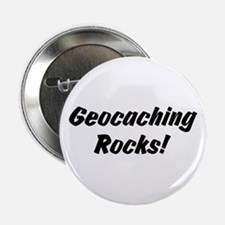 Geocaching Rocks! Button