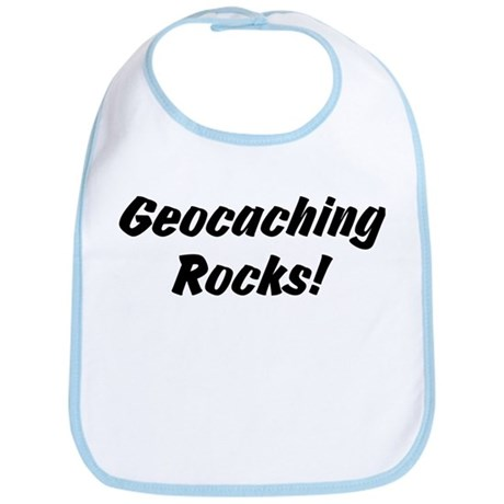 Geocaching Rocks! Bib