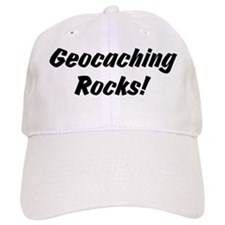 Geocaching Rocks! Baseball Cap