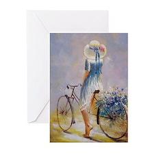 Vintage Bicycle Greeting Cards