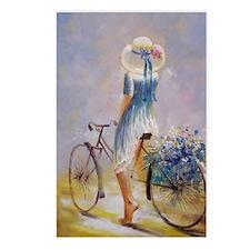 Vintage Bicycle Postcards (Package of 8)