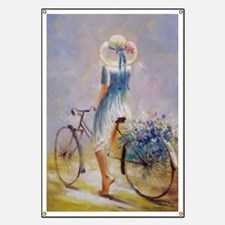 Vintage Bicycle Banner