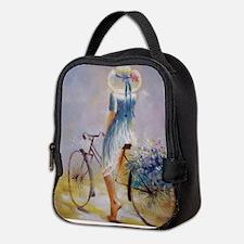 Vintage Bicycle Neoprene Lunch Bag