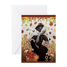 Autumn Card Greeting Cards