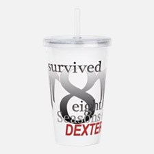Survived 8 Acrylic Double-wall Tumbler