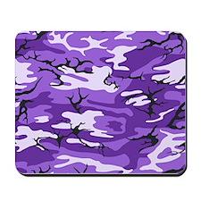 Purple Camouflage Mousepad